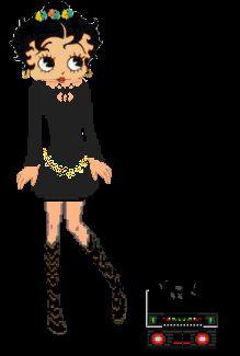 Betty Boop Dancing Fever - boom box gif by mrswoody | Photobucket