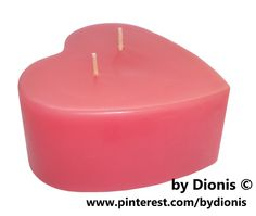 Свеча сердце #bydionis #candle #heart