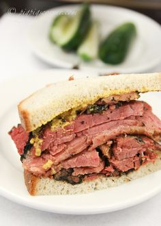 Katz's hot pastrami sandwich... doesn't get any better than this!