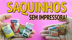 Como fazer Saco de Arroz, Feijão, Tapioca etc para Barbie e outras Bonecas! Barbie Dream, Barbie House, Diy Dollhouse, Dollhouse Miniatures, Design Package, Dolls House Shop, Doll House Crafts, Wine Bottle Art, Mini Things