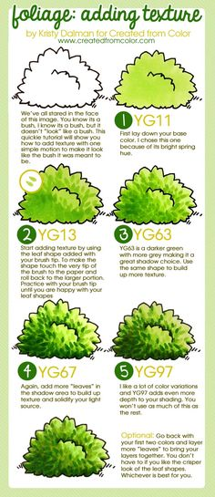 foliage-texture-tutorial-by-Kristy-Dalman.jpg 600×1,386 pixels