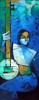 A leading international auction house conducting live and online auctions of modern and contemporary Indian fine art, antiquities, design & jewellery. Pichwai Paintings, Indian Art Paintings, Indian Contemporary Art, Modern Art, Figure Painting, Painting & Drawing, Art Beat, Indian Folk Art, Mural Art