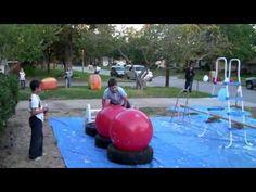 Wipeout Birthday Party Ideas