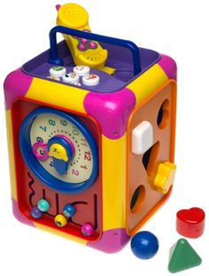 $38.97-$39.99 Baby IQ Baby Busy Box - Stimulating, safe toys for toddlers, Small World Toys Preschool Educational toy line is ideal for development of hand-eye coordination, motor skills and critical thinking. These products encourage curiosity and imagination.The ultimate in busy box fun, the Preschool Educational Busy Box from Small World Toys has six sides full of fun. This large activity box ...