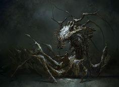 Dead Space 3 - Nexus Beast Concept
