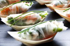 thaiLicous Private Cooking Roll it UP No Cook Meals, Fresh Rolls, In This Moment, Cooking, Ethnic Recipes, Food, Kitchen, Essen, Meals