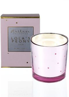 Like the Mrs Darcy Starluxe Lola's Peony Scented Candle? Scented Candles, Candle Jars, Candle Store, Peony, Pretty In Pink, Candle Shop, Peonies