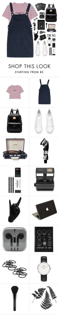 """""""Crash and burn tonight"""" by cassidy-hartslief ❤ liked on Polyvore featuring Crosley Radio & Furniture, Aesop, Mark's Tokyo Edge, Impossible, Thelermont Hupton, Valentine Goods, Daniel Wellington, MAC Cosmetics and Red Clouds Collective"""