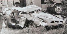 Monza Inter Europa, 1964 Ferrari 250 GTO in very poor shape. | -Prinoth-3851-1