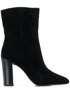 Black Diamond ankle boots from Ash featuring a round toe, a mid high block heel and a side zip fastening. Ash Shoes, Artificial Leather, Black Ankle Boots, Black Diamond, World Of Fashion, Luxury Branding, Block Heels, Shoe Boots, Women Wear