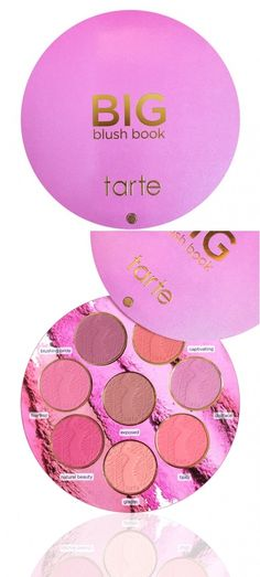 You NEED the Tarte Big Blush Book for $35 Bucks! | http://www.musingsofamuse.com/2015/12/you-need-the-tarte-big-blush-book-for-35-bucks.html