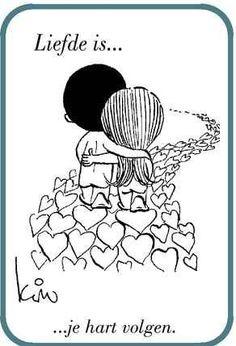 Liefde is ....
