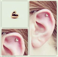 Perhaps this will give me the courage to actually pierce this part of my ear? Because I would love that earring, too.