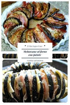 Eggplant Recipes, Antipasto, Finger Foods, Italian Recipes, Sushi, Buffet, Prosciutto Cotto, Food And Drink, Health Fitness