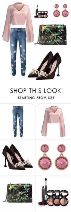 """""""231"""" by pipiolina ❤ liked on Polyvore featuring STELLA McCARTNEY, WithChic, Miu Miu, Ted Baker, Gucci and Laura Geller"""