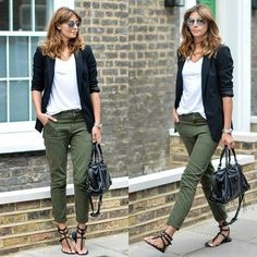 14 ideas to wear your black blazer in spring outfits - Page 5 of 13 - stylishwom. 14 ideas to wear your black blazer in spring outfits – Page 5 of 13 – stylishwomenoutfi… Source by lysbel Looks Chic, Looks Style, Work Casual, Casual Chic, Casual Summer Outfits For Work, Casual Office Attire, Summer Outfits Women Over 40, Casual Fall, Mode Outfits
