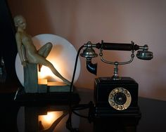 Free Image on Pixabay - Phone, Office Table, Lamp, Museum Free Pictures, Free Images, Table Led, Office Table, Desk Lamp, Museum, Lighting, Home Decor, Study Rooms