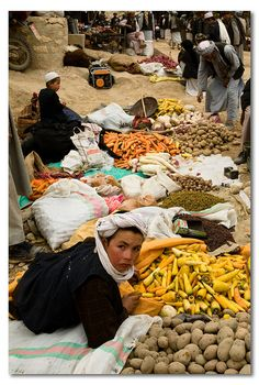 A Market, Afghanistan