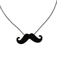 Moustache Mania Necklace