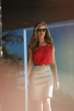 Trendy Summer Work Outfits For Women (4)