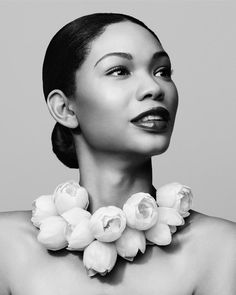 Chanel Iman, American model with Korean, African American heritage chaneliman.com