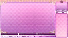 VeenViera Kingdom Hearts Themed Custom Stream Overlay for Twitch, Mixer, or Youtube! Twitch Streaming Setup, Youtube Design, Aesthetic Pastel Wallpaper, Kingdom Hearts, Streamers, Animal Crossing, Layout Design, Overlays, Character Art