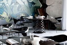 A Former Shipyard Building Is Transformed Into The AMASS Restaurant In Copenhagen | Yatzer