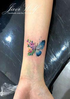 Javi Wolf Tatoo - that kind of white 13 Tattoos, Dream Tattoos, Badass Tattoos, Wrist Tattoos, Mini Tattoos, Flower Tattoos, Body Art Tattoos, Tribal Tattoos, Small Tattoos