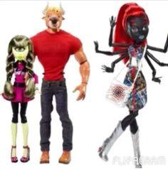 New Monster High Dolls 2014
