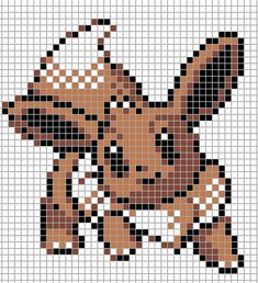 Pokemon from the game Pokemon Silver. Placed in grid format to make it easier for pixel-arters to create on minecraft, in hama form, cross-stitch or other form of non-isometric pixel art. Pixel Pokemon, Eevee Pokemon, Beaded Cross Stitch, Cross Stitch Flowers, Cross Stitch Patterns, Bead Patterns, Sprites Pokemon, Grille Pixel Art, Pixel Art Minecraft