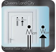 Creative Funny Bathroom Toilet WC Business by Queenslandcity2009, $6.99: