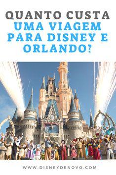 A pergunta que a gente mais recebe: Quanto custa uma viagem para Disney e Orlando? #disney #orlando #viagem #ferias Walt Disney, Disney Couples, Places To Travel, Travel Destinations, Places To Go, Sea World, Disneyland, Disney Halloween, Travel Tips