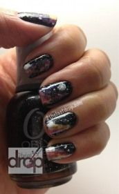 Galaxy nails. Out of this world?!