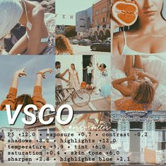 Looks good on pictures with blue, brown, orange, white, and red tones Fotografia Vsco, Lightroom, Photography Filters, Photography Editing, Foto Filter, Best Vsco Filters, Free Vsco Filters, Vintage Filters, Vintage Filter App