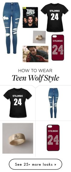 """Teen Wolf is Awesome"" by marvel1 on Polyvore featuring Topshop"