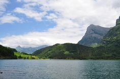 Klöntalersee by gregory.wen, via Flickr