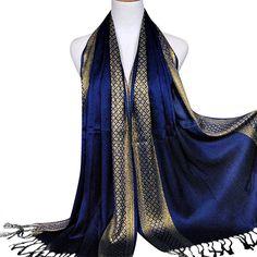 2297847dd859 Foulard, Oyedens Echarpe Femme Automne-Hiver Merveilleux Echarpes De Longue  Etole Tassel Châle Pashmina