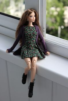 City Chic Style Barbie Look 2016 Karl mold Top Fashion Hairstyles Doll Clothes Barbie, Barbie Dress, Barbie Et Ken, Barbie Model, Barbie Tumblr, Barbie Fashionista Dolls, Barbies Pics, Barbie Basics, Beautiful Barbie Dolls