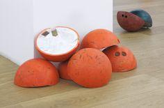 Assaf Gruber - Getting White Even Opinions, Installation view (detail),  Michael Janssen Berlin, 2014 #art #bowling #installation