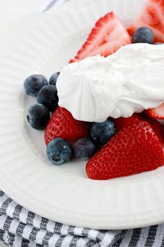 Whipping cream made from coconut - not whipping cream. Yummy and healthier!