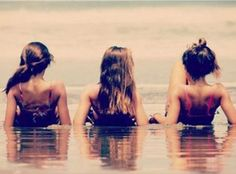 Pic is so me, jess and kristin.  On a float trip or chillin at jacomo. Miss these days!!