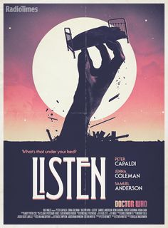 """Radio Times poster for """"Listen"""""""