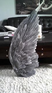 Wing by Lacey, this is fabulous and out of cardboard and papermache, yes cardboard & papermache!