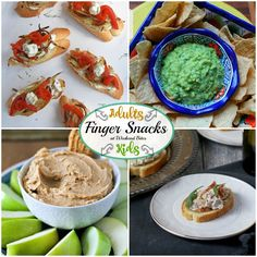 Share and Browse all your favorite food bloggers in one spot! This week do it while enjoying some finger snacks for you and the kids.