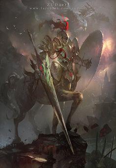 Unlimited Knight , Zudarts Lee on ArtStation at https://www.artstation.com/artwork/unlimited-knight