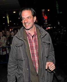Danny Mastrogiorgio exits the stage door of 'Lucky Guy' at the Broadhurst Theatre on April 13 2013 in New York City