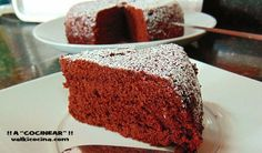 Bizcocho de chocolate en 6 minutos Microwave Recipes, Ham Recipes, Cooking Recipes, Sweet Cooking, Cooking Time, Piece Of Cakes, Sweet Desserts, Yummy Cakes, Chocolate Recipes
