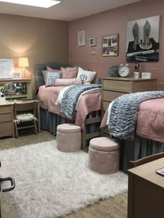 Dorm Room Ideas Pink For Girls Decorations.Suite Style Dorm Room At Presidential Village At The . What Perfection Looks Like Funny In 2019 Modern . Pink Turquoise Dorm Room Our Freshmen Dorm Room . Home and Family Pink Dorm Rooms, Cool Dorm Rooms, Diy Dorm Room, Dorm Room Rugs, Dorm Room Desk, College Bedroom Decor, College Dorm Rooms, Girl College Dorms, College Students