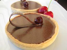 I dolci di Pinella: Petite tarte au chocolat (da una ricetta di Pierre Hermè)