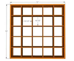 5x5 storage cubby plans - Ana White, will need to see if hubby can make this for me!!
